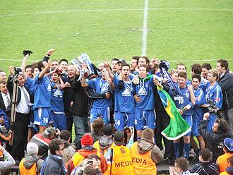 South Melbourne FC - South Melbourne celebrate their 2006 VPL title