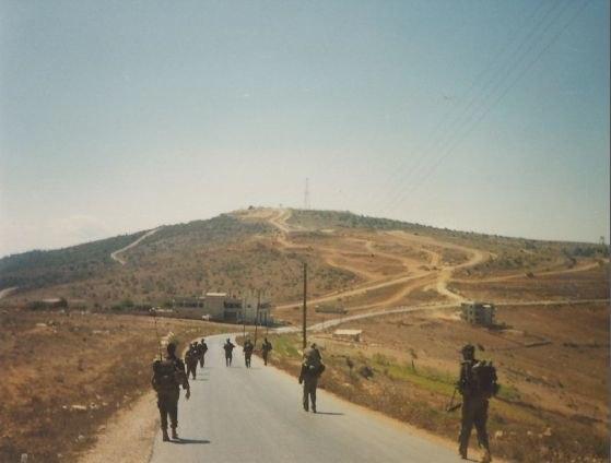 South lebanon Israel army patrol