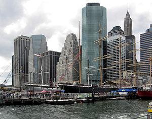 Staten Island Ferry - The South Street Seaport, where the damaged Northfield II sank