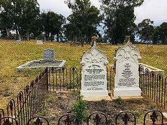 Weetangera, Australian Capital Territory - Southwell family graves, late 1800s, Weetangera Cemetery
