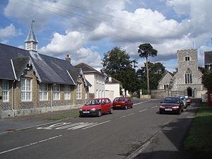 Southwick, Hampshire - Image: Southwick P1010207