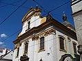Spálená, kostel Nejsvětější Trojice, horní část.jpg