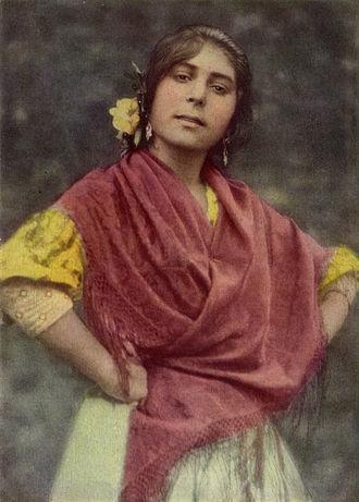 Romani diaspora - Spanish Romani woman