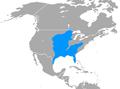 Spilogale putorius range map.png