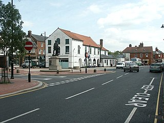 Spilsby Market town and civil parish in Lincolnshire, England