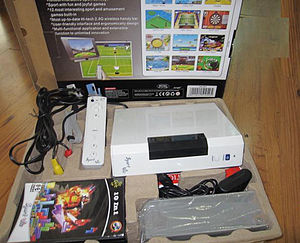 Video game clone - The Vii, released in 2007 in China; resembles the Wii
