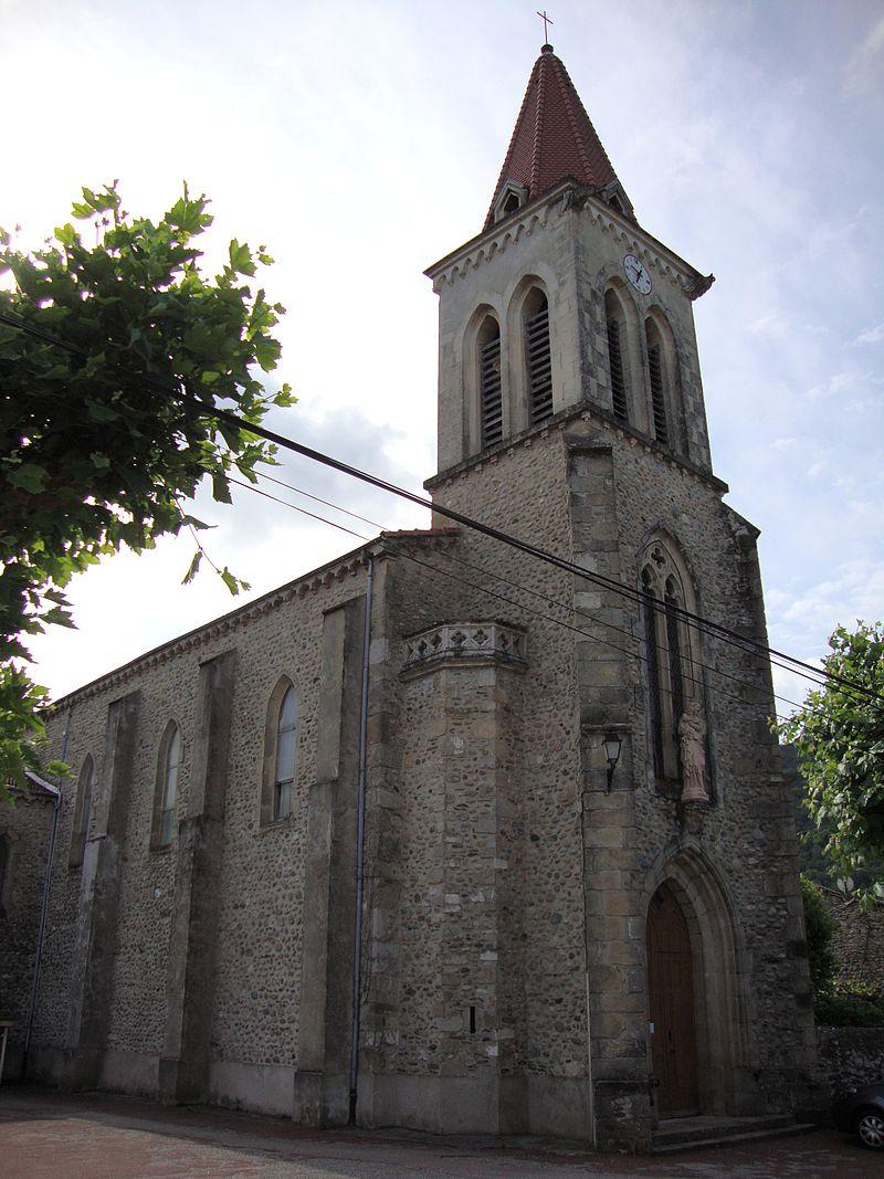 St.Laurent-du-Pape(Ardèche, Fr) église catholique.JPG