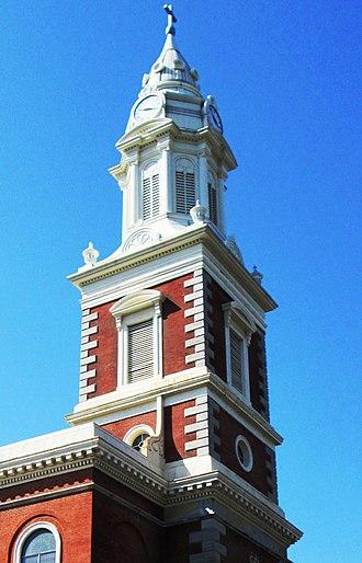 St. Augustine Church (Philadelphia) - Steeple (2013)