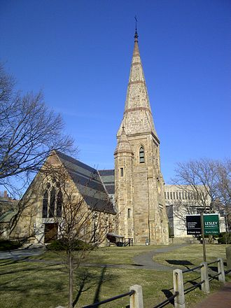 Episcopal Divinity School - St. John's Chapel at EDS