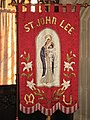 St. John Lee - embroidered banner - geograph.org.uk - 1269390.jpg
