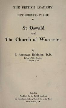 St. Oswald and the Church of Worcester.djvu