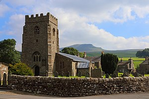 Horton in Ribblesdale - St Oswald's Church, Horton in Ribblesdale