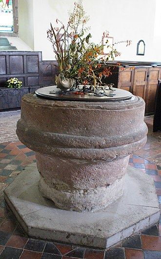 St Andrew's Church, Wroxeter - Image: St Andrews Wroxeter 04
