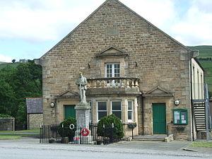 St John's Chapel, County Durham - Image: St John's Chapel Town Hall