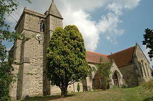 Stone, Buckinghamshire - Image: St John The Baptist, Stone