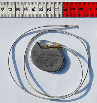 Medical device - Artificial pacemaker, a Class III device in the United States