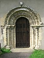 St Mary's church - the Norman doorway - geograph.org.uk - 1406902.jpg