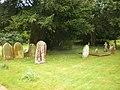 St Mary the Virgin with St John the Baptist Church, Newtown, Graveyard - geograph.org.uk - 1319774.jpg