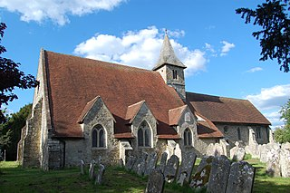 St Thomas à Becket Church, Warblington Church in Hampshire , United Kingdom
