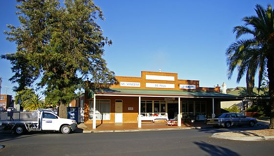 SVP Opportunity Shop in Wagga Wagga, New South Wales St Vincent De Paul Society Wagga.jpg