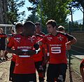 Stade rennais vs USM Alger, July 16th 2016 - Titulaires 3.jpg