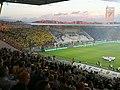 Stadio Benito Stirpe Frosinone Palermo 2-0 playoff final nord coreografia.jpg