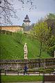 Stadtpark Graz - Aussicht auf Uhrturm.jpg