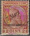 Stamp of Albania - 1914 - Colnect 337722 - Former Issue with overprint by hand - 7 Mars.jpeg