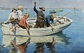Stanhope Forbes - Chadding On Mount's Bay 1902.jpg