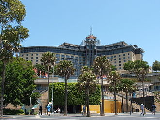 The Star, Sydney - The harbour side of Star City Casino prior to expansion