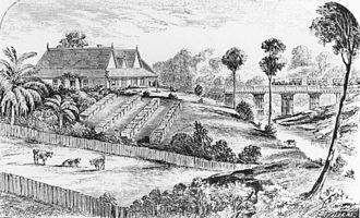 South East Queensland - Queensland's first railway linked Grandchester to Ipswich, 1865