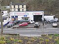 Station Road Garage - viewed from Chapel Hill - geograph.org.uk - 1780343.jpg