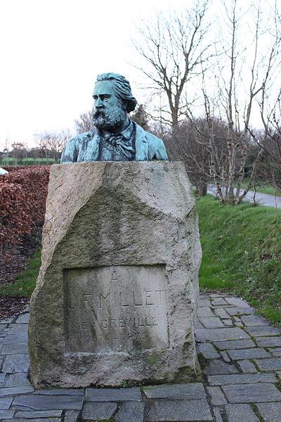 Buste sauvé du bronze de 1898 d'Alphonse Marcel-Jacques
