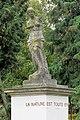 Statue du bassin rond du chateau de Rentilly 01.jpg