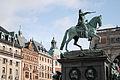 Statue of Gustav II Adolf, The Gustav Adolfs Torg Square. Stockholm, Sweden, Northern Europe.jpg