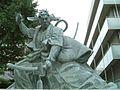 Statue of Ichikawa Danjuro Ⅸ.JPG