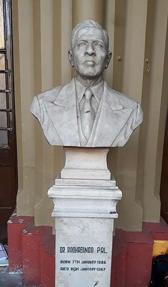 Radhabinod Pal - Statue of Radhabinod Pal in Calcutta High Court
