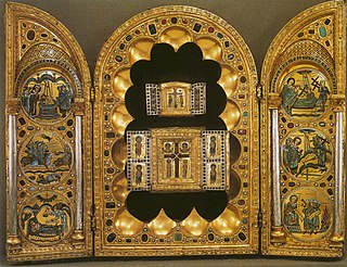 medieval reliquary and portable altar