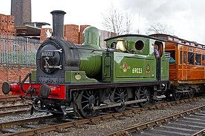 Wensleydale Railway - Image: Steam Locomotive 69023 (7074556801)