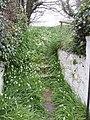Steps to cemetery at Ardcavan - geograph.org.uk - 1281027.jpg