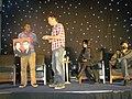 Sterling Sulieman, Michael Rosenbaum, Kelly Hu & Ben Ayres (4996382868).jpg