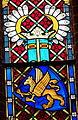 Sternberg Kirche - Fenster 4e Reformation Wappen Mecklenburg.jpg
