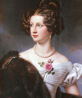 Amalie Adlerberg - Joseph Stieler, Amalie von Krüdener, 1828