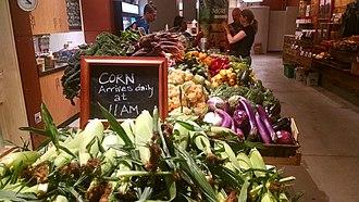 Boston Public Market - Image: Stillman's Farm stand at Boston Public market