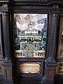 Stipo con veduta di villa la petraia, su disegno di giovanni bilivert, 1610-30, 02.JPG