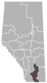 Stirling, Alberta Location.png