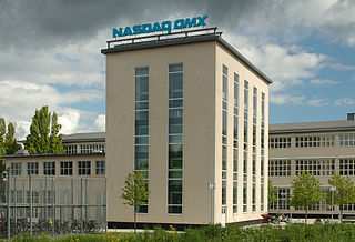 Nasdaq Stockholm Stock exchange located in Stockholm, Sweden