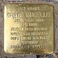 Stolperstein Bayerische Str 9 (Wilmd) Grete Tradelius.jpg