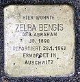 Stolperstein Berliner Str 26 (Panko) Zelba Bengis.jpg