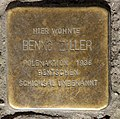 Stolperstein Brunnenstr 114 (Gesbr) Benno Ziller.jpg